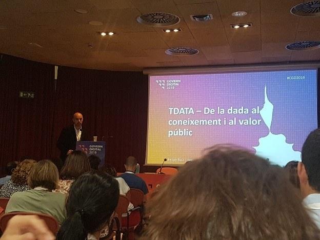 Tarragona presenta al Congrés de Govern Digital el seu projecte de gestió basada en dades
