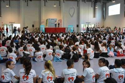 Trobada de centres educatius amb motiu del Dia Mundial de la Conscienciació de l'Aturada Cardiorespiratòria