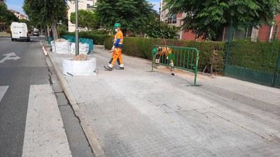 Aquesta setmana s'han iniciat els treballs de millora del Camí Vell de La Canonja