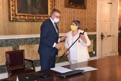 Cinta Pastó, nova consellera de l'Ajuntament de Tarragona