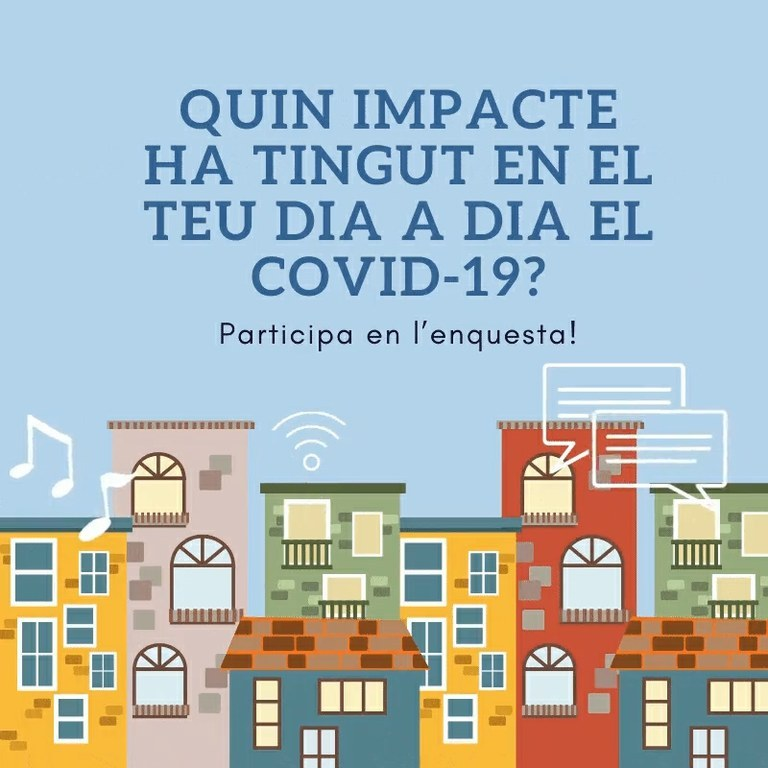 Darrera enquesta de l'Ajuntament de Tarragona per conèixer com afronta la ciutadania les conseqüències de la COVID-19