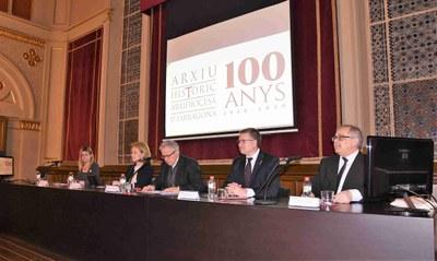L'alcalde assisteix a l'acte d'inauguració del centenari de l'Arxiu Històric Arxidiocesà de Tarragona