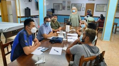 La consellera Paula Varas organitza una reunió del Pla local de Nova Ciutadania