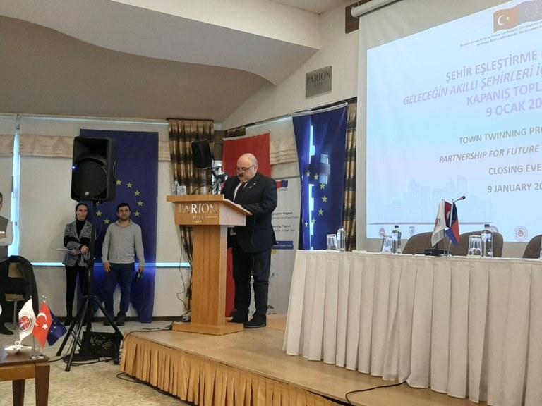 Tarragona participa a Turquia a les jornades sobre el futur de les ciutats intel·ligents
