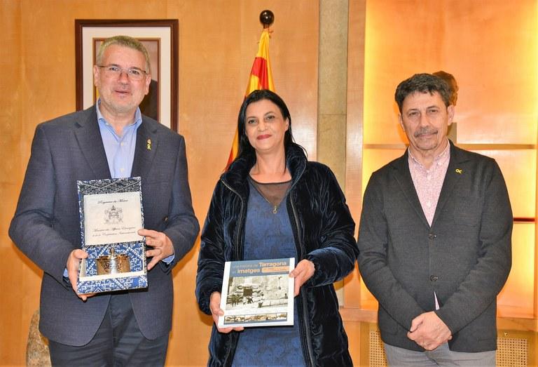 Visita protocol·lària de la cònsol del Marroc, Saloua Bichri