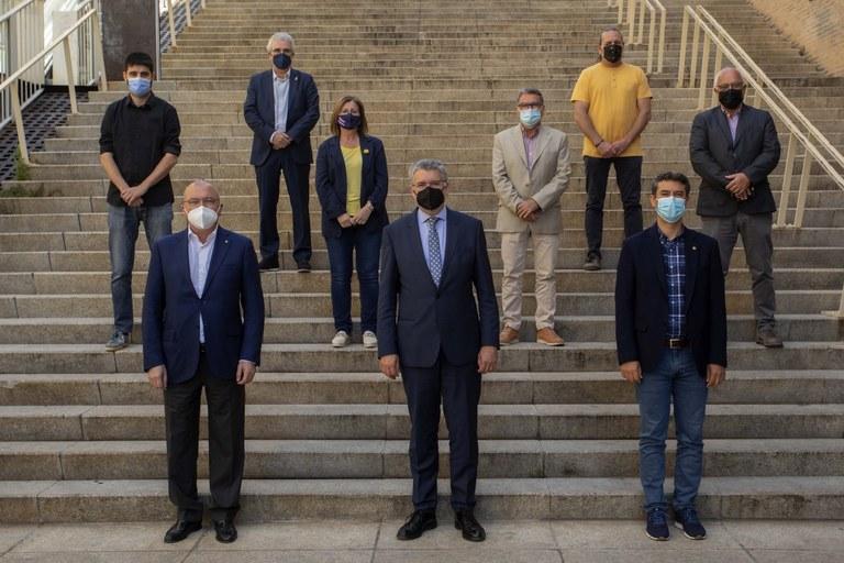 Els alcaldes de Reus, Salou, Cambrils i Vila-seca s'incorporen al pacte per l'alliberament de les mercaderies per la costa