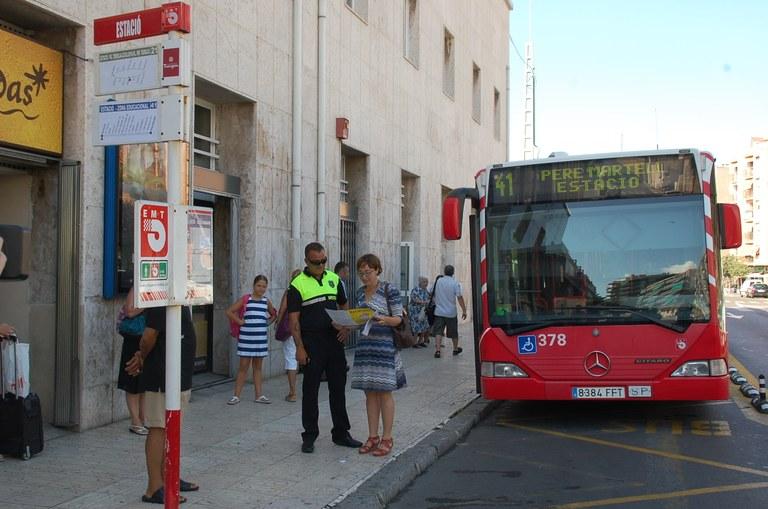 Dilluns vinent, 5 d'agost, entrarà en funcionament una nova línia de bus