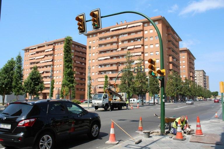Nova regulació semafòrica a Torres Jordi