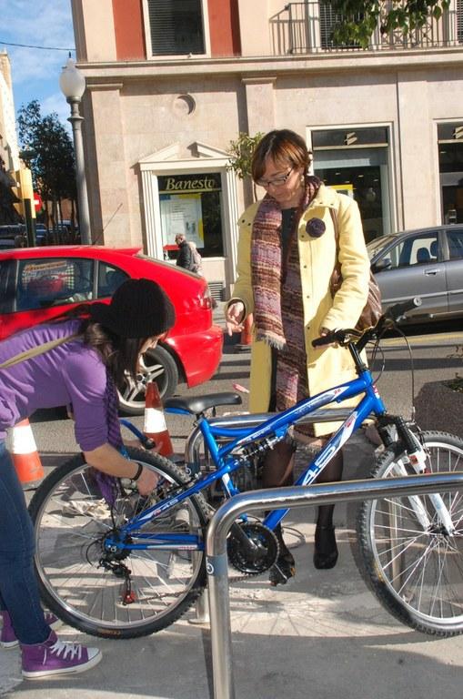Tarragona comptarà amb 100 nous punts d'aparcament de bicicletes