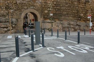 Dilluns al matí es tancarà l'accés al trànsit pel Portal del Roser