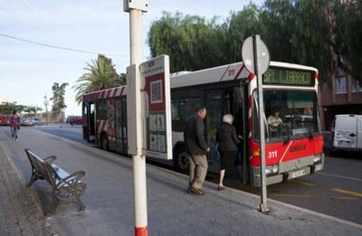 Els usuaris del pàrquing municipal Joan XXIII ja poden viatjar gratis en autobús