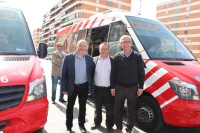 L'alcalde de Tarragona inaugura l'ampliació de la Línia 55
