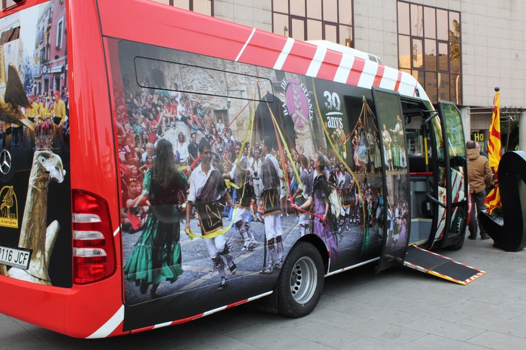 Tarragona incorpora tres microbusos de baix consum a la xarxa de transports municipal