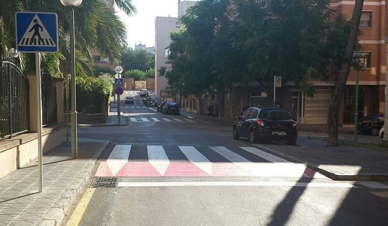Tarragona instal·la nous reductors de velocitat i passos de vianants de ressalt