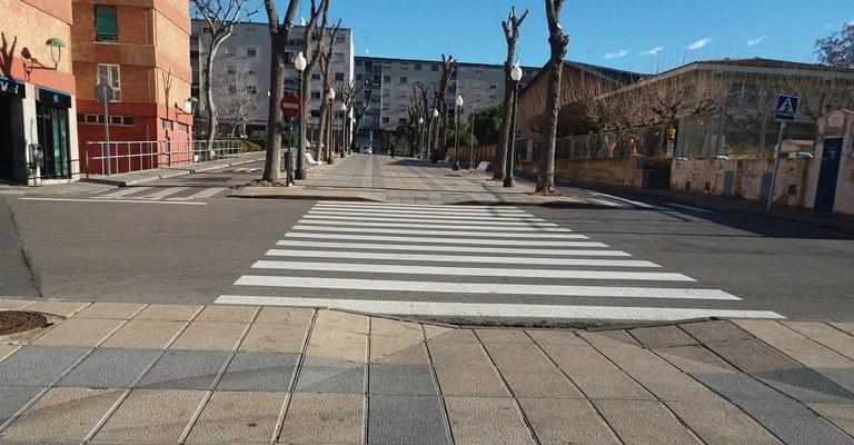 Actuació a la Rambla de St. Pere i St. Pau per pacificar el trànsit i millorar la seguretat