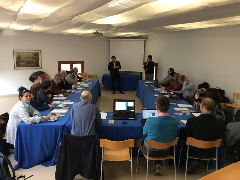 Cinquena reunió de treball del projecte europeu Push and Pull