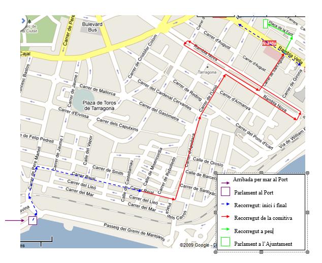 Dispositiu de trànsit per a la Cavalcada de Reis de 2016