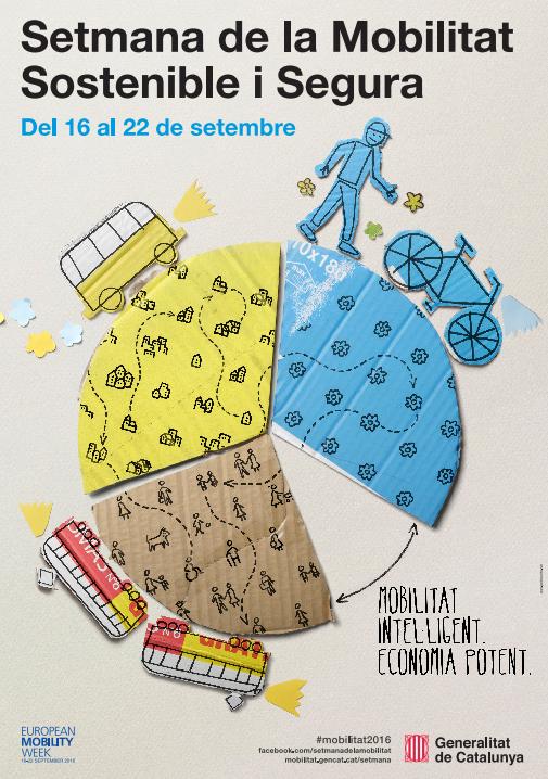 Tarragona celebra la Setmana de la Mobilitat 2016 del 16 al 22 de setembre