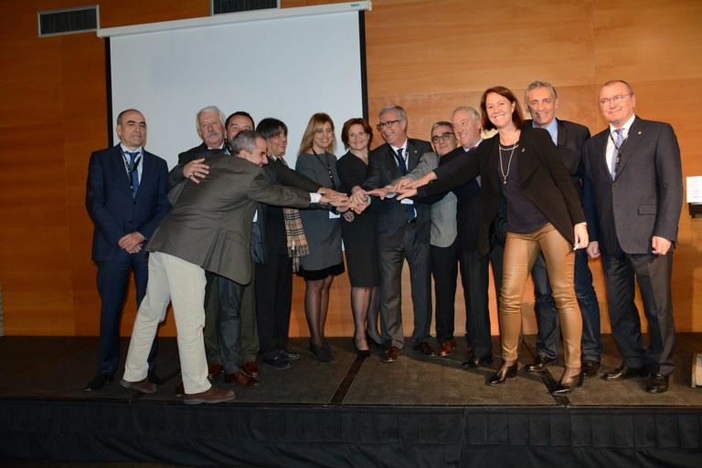 Avui s'ha celebrat a Tarragona la Cimera de Ciutats del Corredor del Mediterrani