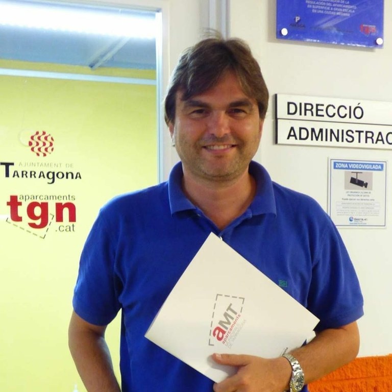 Josep Acero, nou conseller dels Plans de Mobilitat a l'Ajuntament de Tarragona