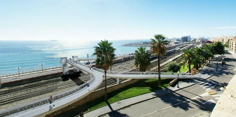Tall de trànsit al Vial de Bryant del 16 al 22 d'octubre per obres de la Passera Port-Ciutat