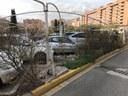 Tanca tres dies el pàrquing Battestini pels danys causats pel fort vent