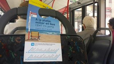 El proper dilluns, 2 de juliol, comença el servei de bus a les platges amb la L16