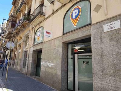 L'Oficina d'Atenció al Client d'Aparcaments Municipals de Tarragona es trasllada al carrer de la Unió