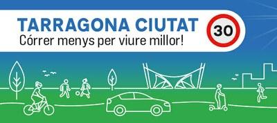 El 81% dels conductors compleixen els límits de velocitat en la primera jornada de 'Tarragona Ciutat 30'