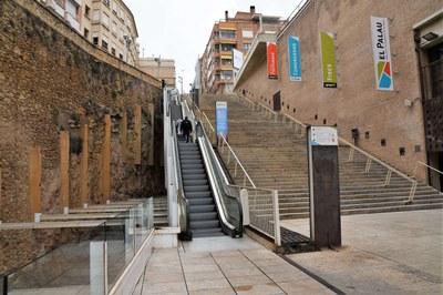 L'Ajuntament de Tarragona arranjarà les escales del Palau de Congressos per evitar les continues avaries