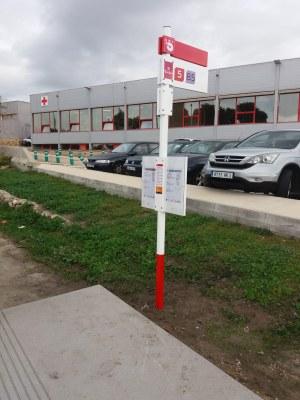 L'EMT obre la nova parada Creu Roja N-240