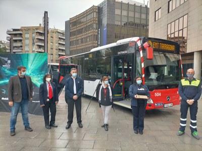 L'EMT rep,  juntament amb altres entitats del transport públic català, el Premi d'Honor MobiliCat 2020