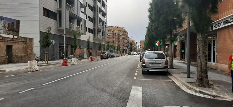 Canvis de circulació del Passeig de la Independència a Torres Jordi