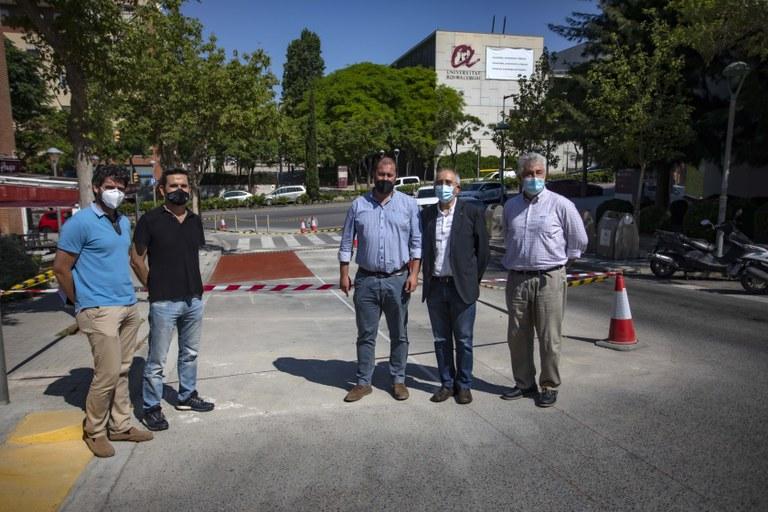 Comencen les obres del carril bici que unirà el campus Catalunya i el campus Sescelades
