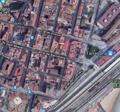 Inici de les obres de remodelació del col·lector del carrer Barcelona
