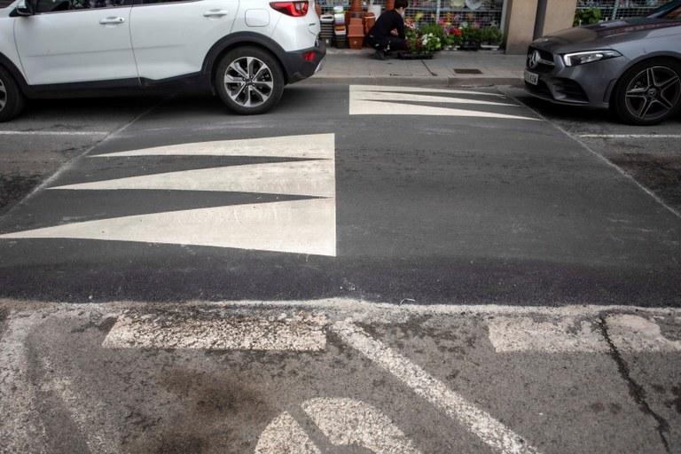 L'Ajuntament de Tarragona implanta 14 plataformes elevades per reduir la velocitat de carrers i vies de la ciutat