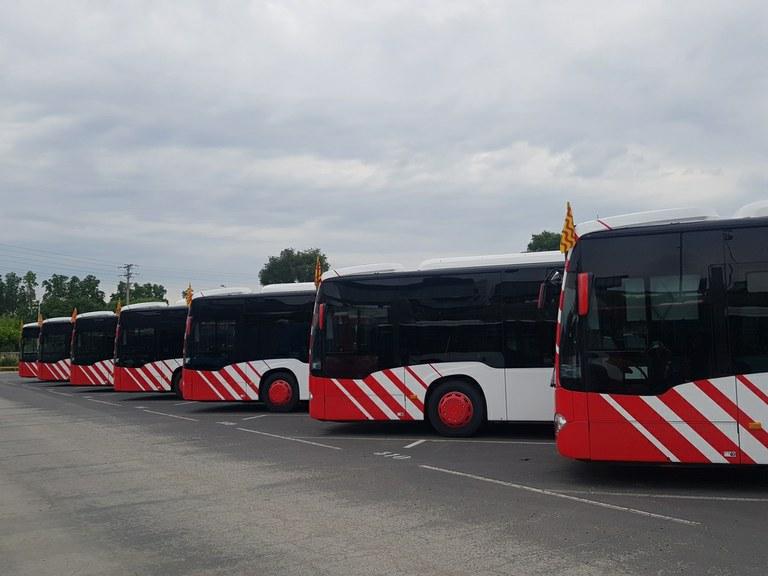 L'EMT renovarà la flota amb l'adquisició de deu autobusos híbrids