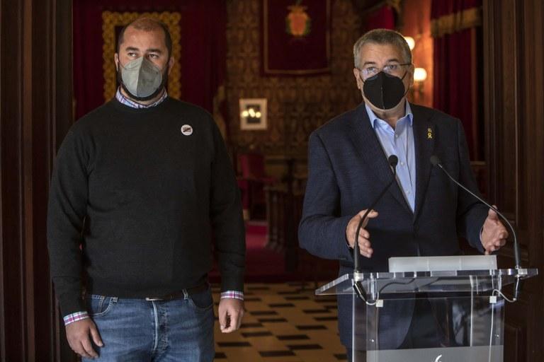 """Pau Ricomà: """"Les al·legacions del TramCamp estan pensades en clau de territorio"""