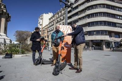 Spin, la tercera empresa de lloguer de patinets elèctrics, ja opera a Tarragona