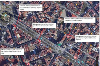 Talls de trànsit i afectacions a la via per millores a la ciutat
