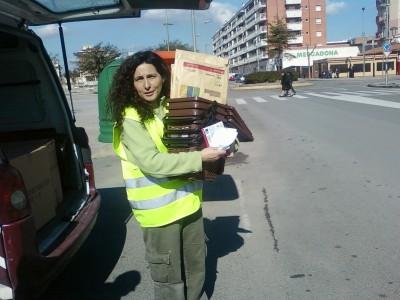 Campanya de foment de la recollida selectiva de la matèria orgànica - Repartiment de cubells