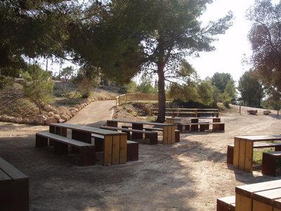 Parc del Llorito taules