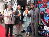 Inauguració Q de festa a Tarragona