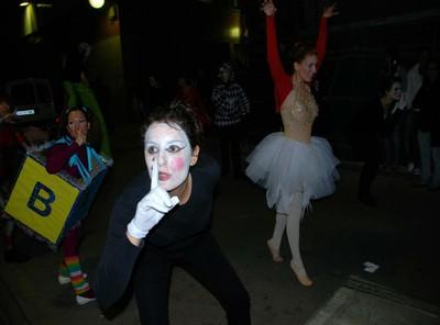 Segona actuació abril 2009