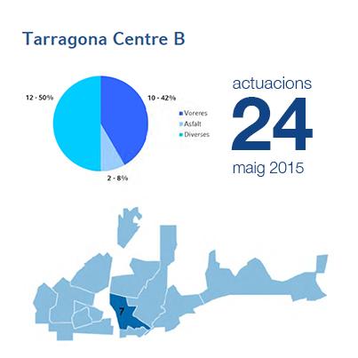 Estadístiques BIR maig - Centre B