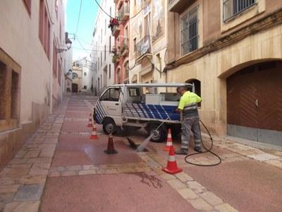 L'Ajuntament reforça la neteja del sistema de clavegueram de la Part Alta i el centre de Tarragona