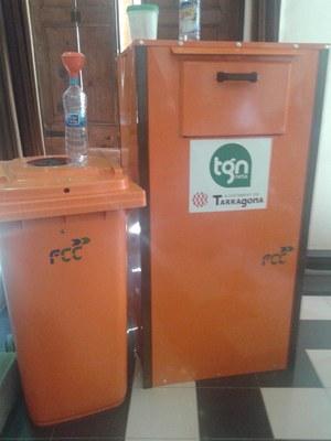 Tarragona comptarà amb contenidors per a la recollida d'oli domèstic