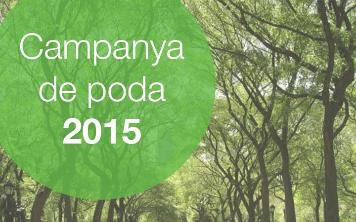 Campanya de poda 2015 | Previsió 23-27 de febrer