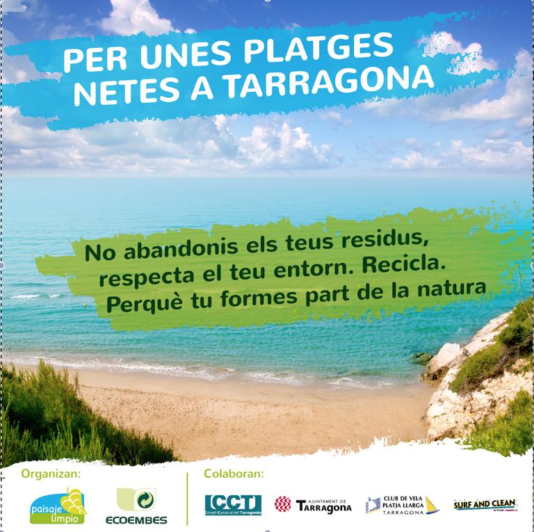 Campanya per mantenir les platges netes