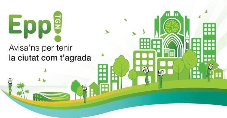 L'aplicatiu 'EPP! Tarragona' rep prop de 800 incidències durant el mes de març